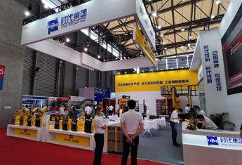 TIME welding machine in the 25th Beijing ESSEN Welding & Cutting Fair in Shanghai